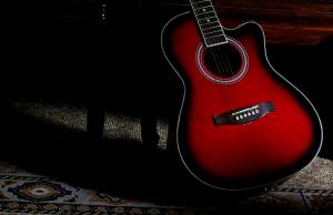 HP_赤いギター